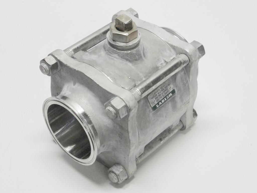 Tri clover quot cf m ball valve sanitary stainless steel ebay