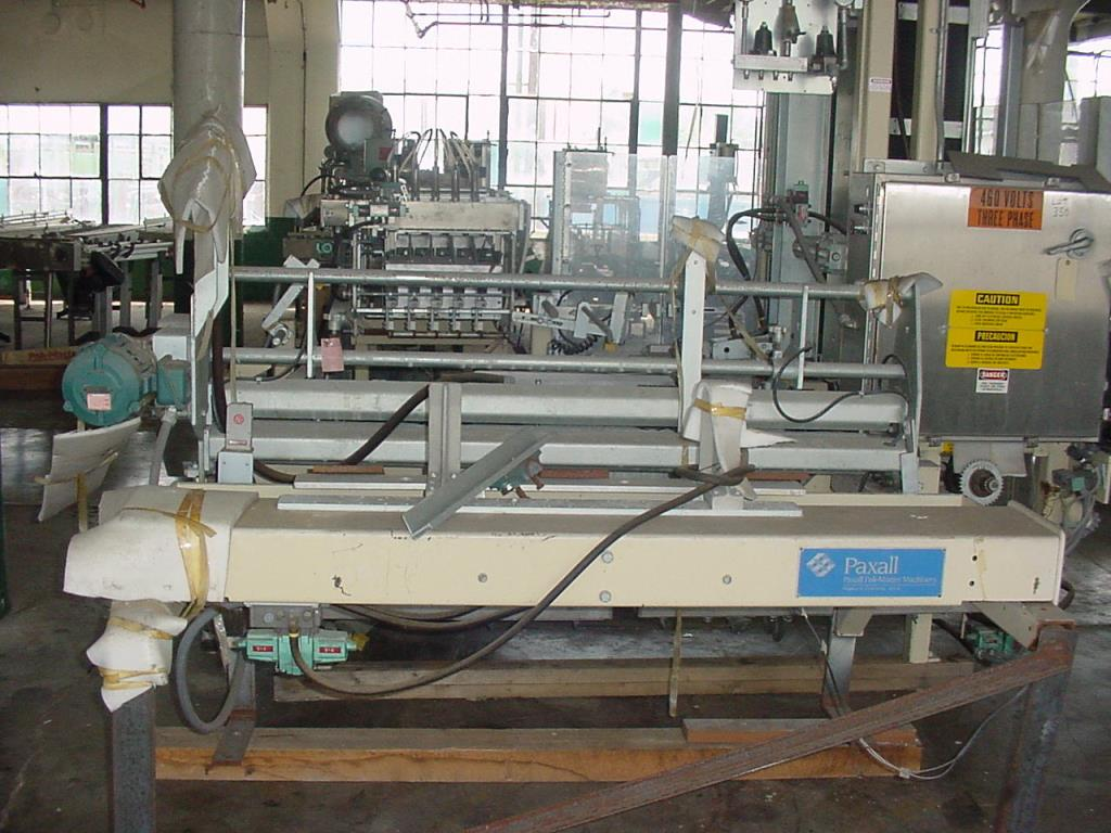 Case Packer Paxall wrap-around case packer model PM-3, up to 17 cpm4
