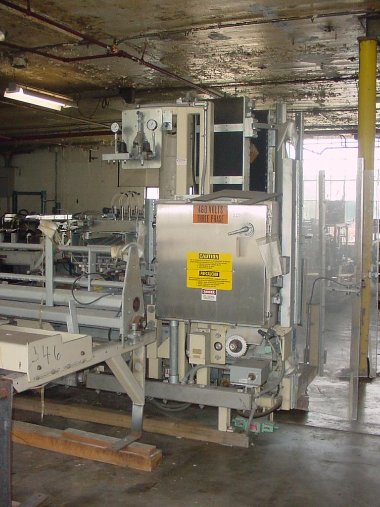 Case Packer Paxall wrap-around case packer model PM-3, up to 17 cpm5