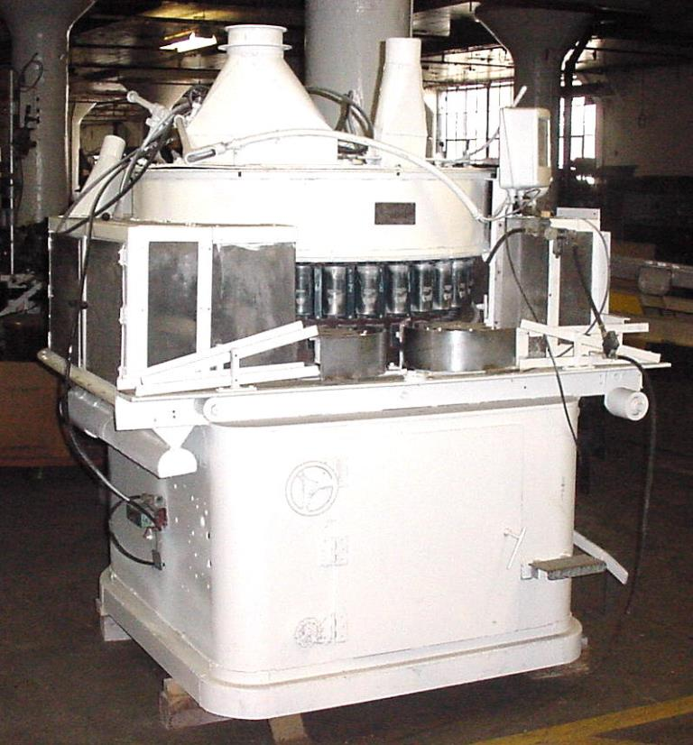 Filler 32 filling tubes Nalbach volumetric filler model 32RC, 3.625 centers, up to 300 cpm
