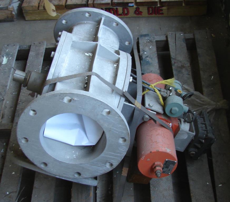 Valve 8 Aluminum, Semco pneumatic diverter valve, model APDC - 802
