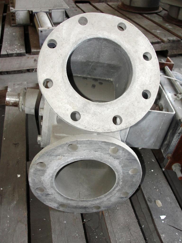 Valve 6 Aluminum, Semco pneumatic diverter valve, model 64