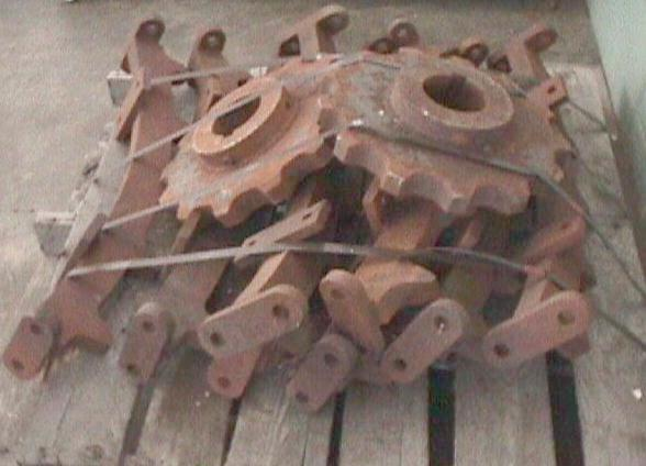 Miscellaneous Equipment sprocket, model 40T, 94 dia x 1.75 w