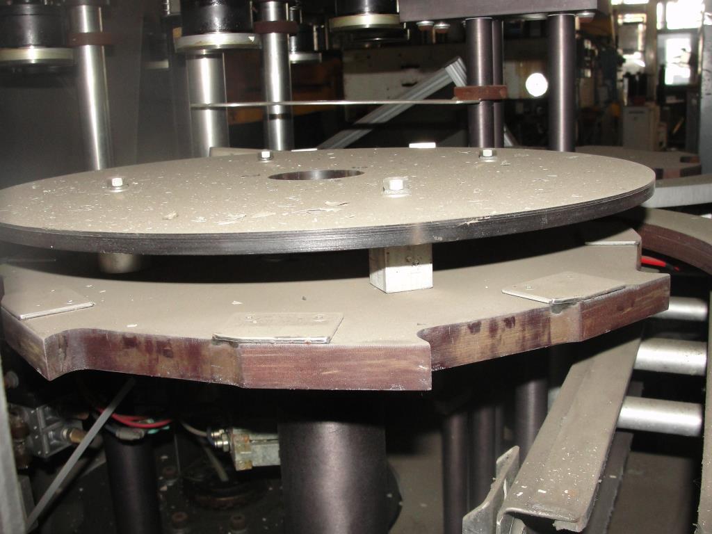 Unscrambler Hoppmann bottle unscrambler model FRS-60, Stainless Steel, up to 240 bpm10