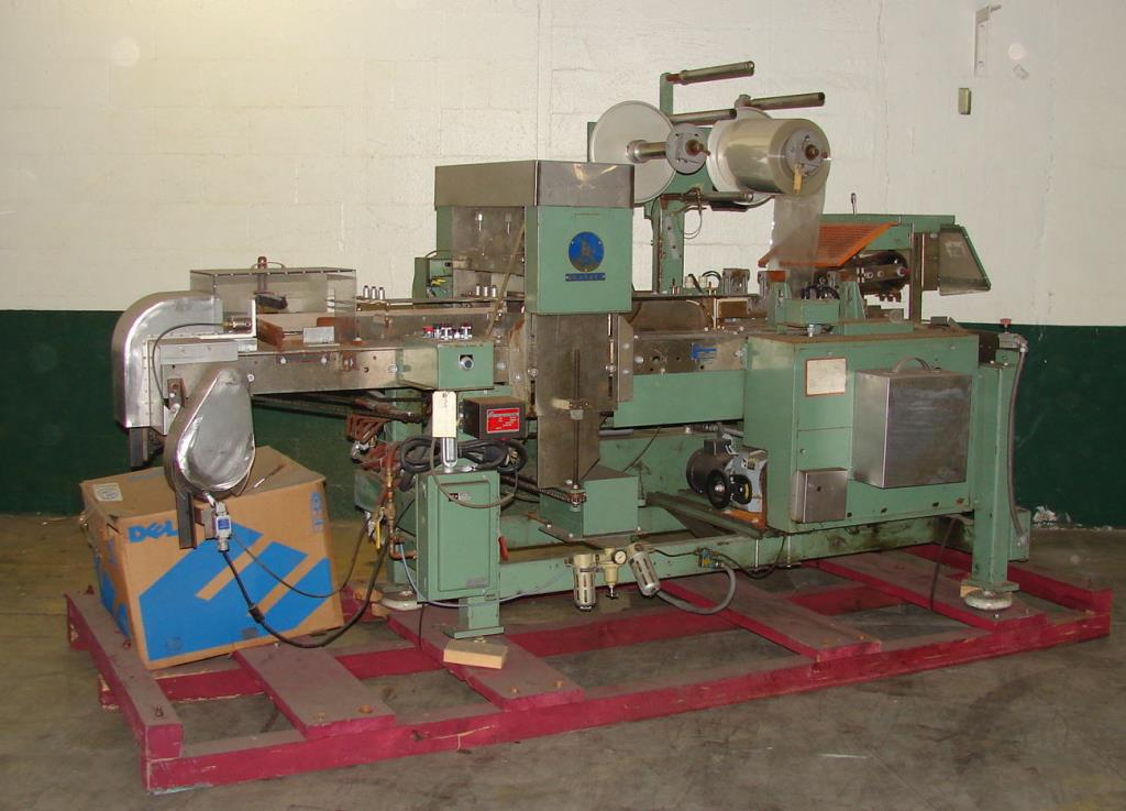 Wrapper Scandia overwrapping machine model 110, speed up to 80 cpm1