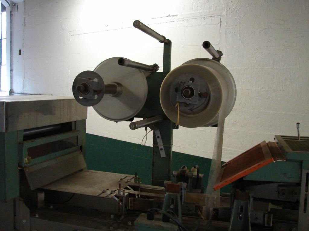 Wrapper Scandia overwrapping machine model 110, speed up to 80 cpm3
