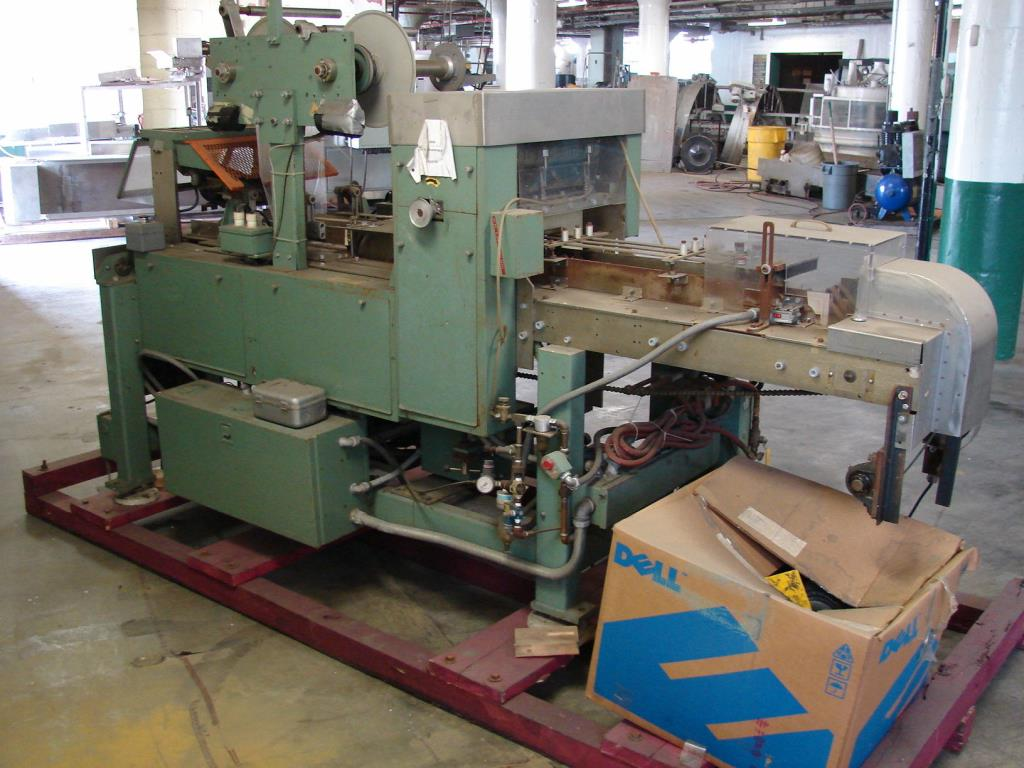 Wrapper Scandia overwrapping machine model 110, speed up to 80 cpm5