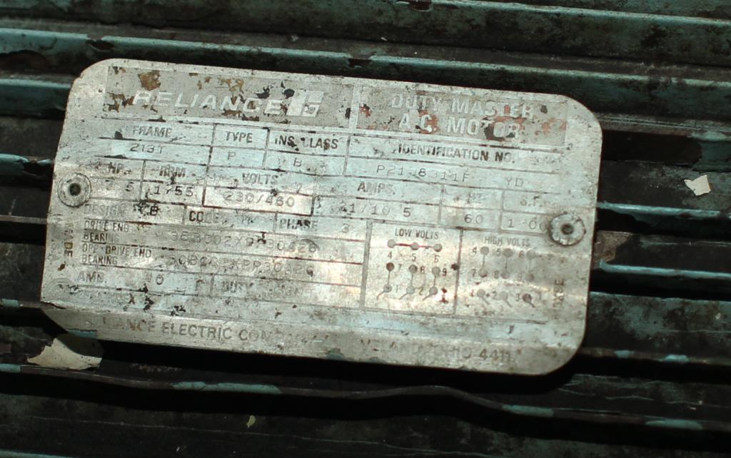 Pump 7.5 hp hydraulic power unit, 48 gal. reservoir tank2