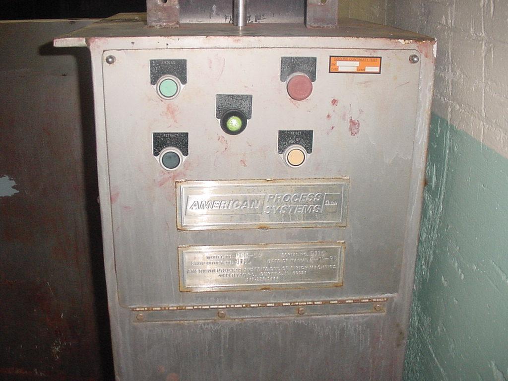 Baler American Process Systems bag crusher model PBC-50  24 w x 17 d x 38 h bale size3
