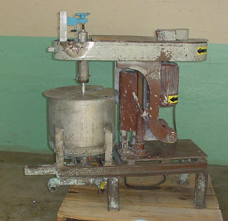 Mixer and Blender 5 hp Cowles disperser, Tilt lift, variable speed drive