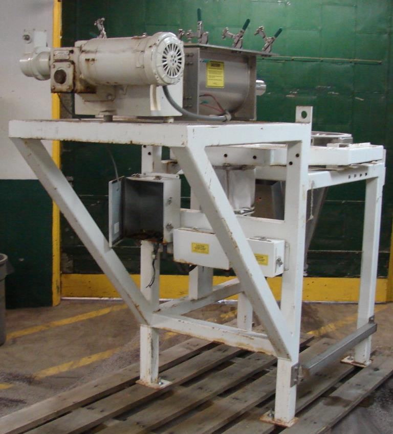Feeder 2.5 Acrison screw feeder Stainless Steel1