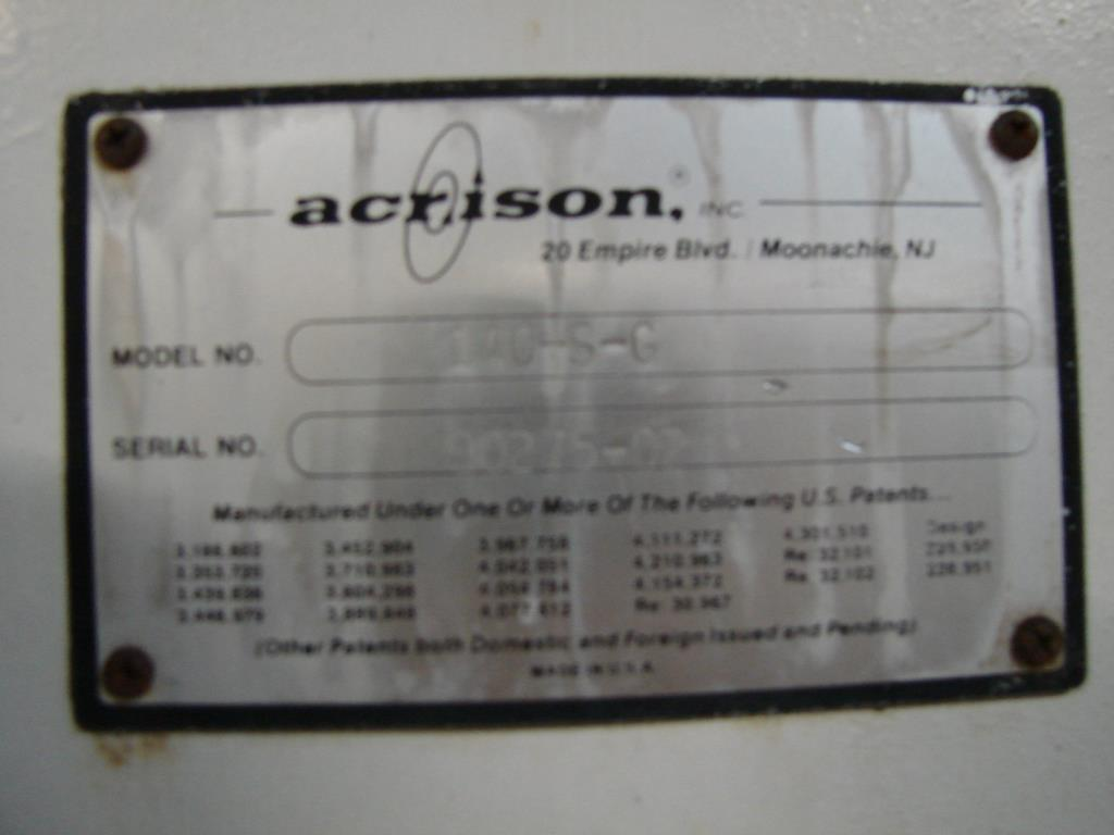 Feeder 2.5 Acrison screw feeder Stainless Steel4