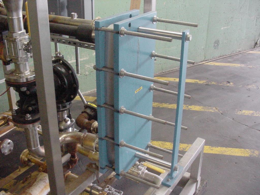 Heat Exchanger 40 sq.ft. Sentry Equipment plate heat exchanger, Stainless Steel Contact Parts3