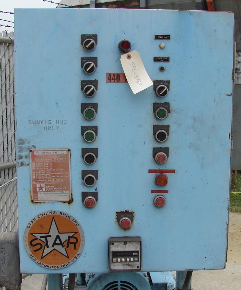 Pump 3 hp Star hydraulic power unit, model Star T302