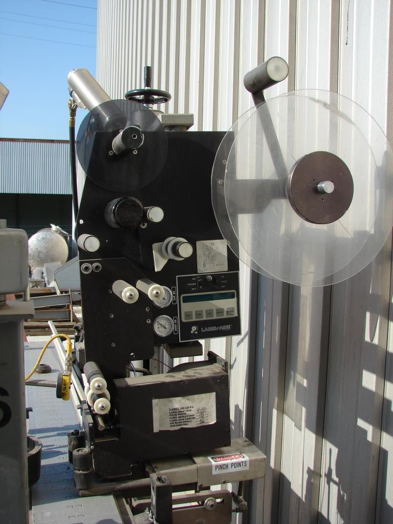 Labeler Label-Aire pressure sensitive labeler model 2111CD, Blow On4