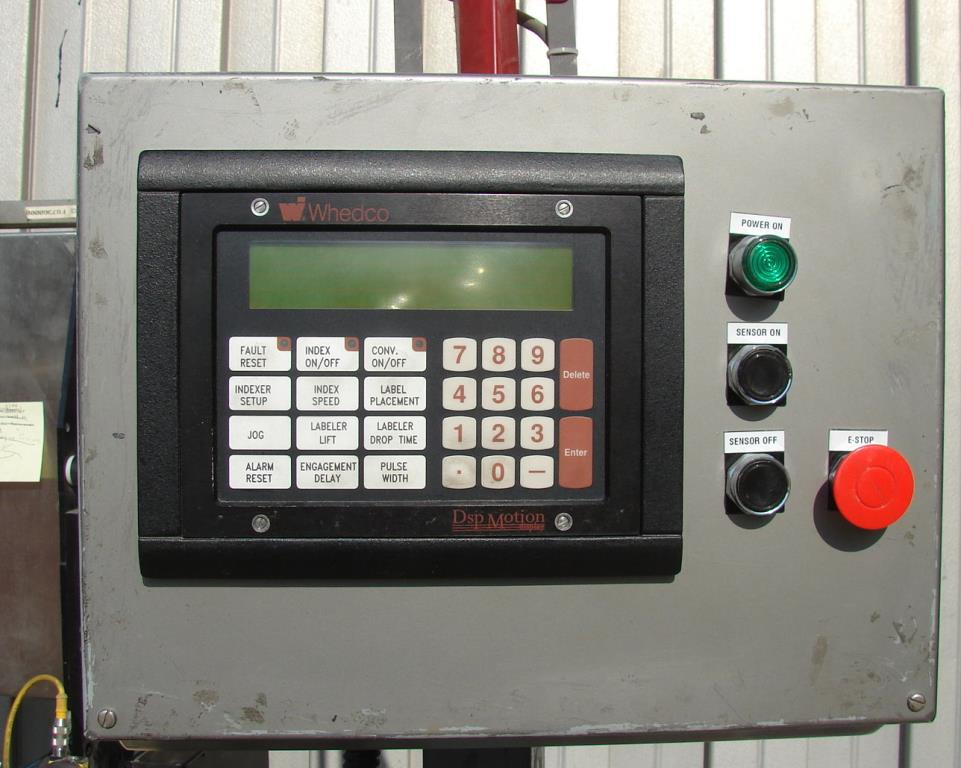 Labeler Label-Aire pressure sensitive labeler model 2111CD, Blow on2