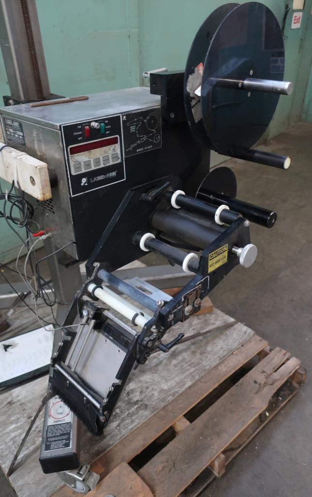 Labeler Label-Aire pressure sensitive labeler model 2115 ST/LH, Pressure sensitive, 1250 fpm2