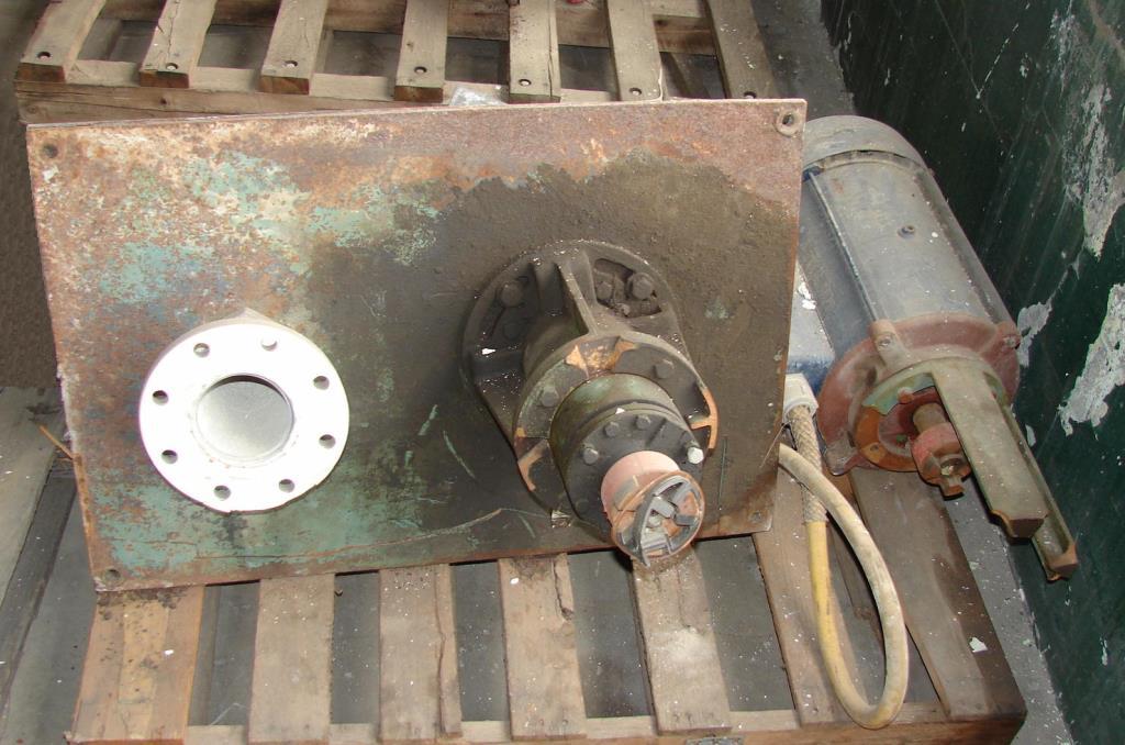 Pump 5x4x8 5/8 Crane Deming vertical centrifugal pump model 5562/4MD, 15 hp, 316 SS2