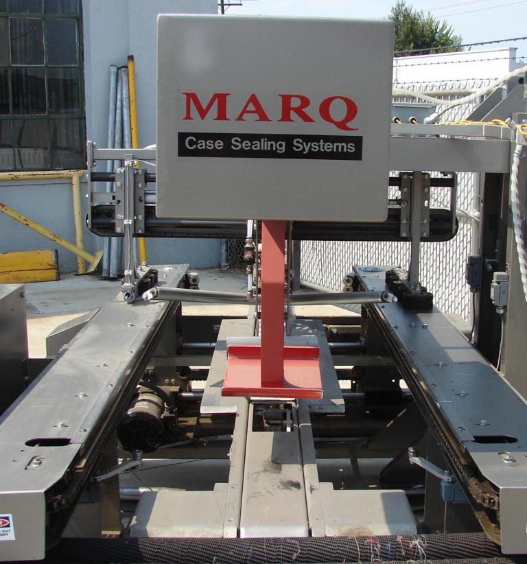 Case Sealer Marq top only case taper model HPR/LH/DL, speed 1200 cases per hour4