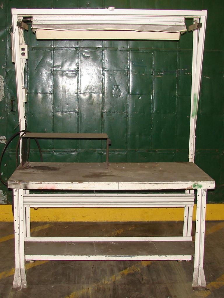 Miscellaneous Equipment work bench, 30 x 60 Plywood over fiberboard top1