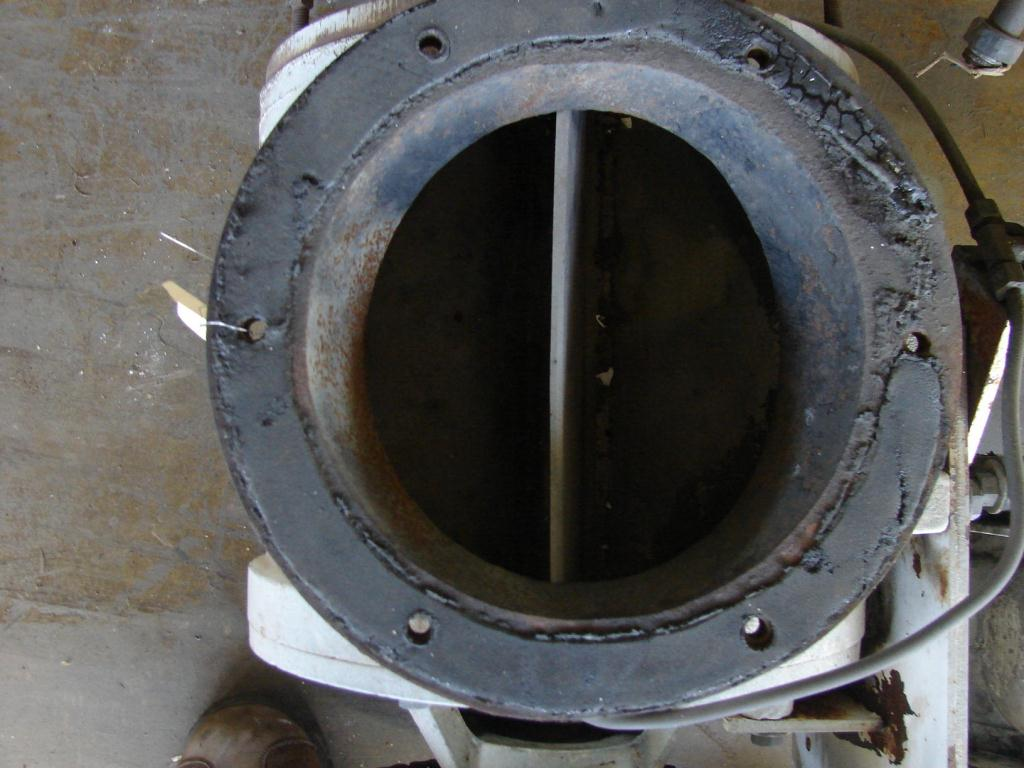 Valve 8 dia. Stainless Steel Shick rotary airlock feeder2