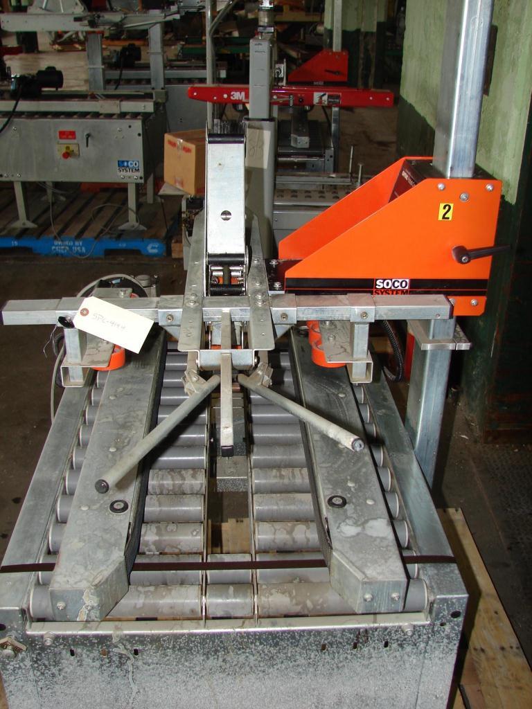 Case Sealer Soco top only case taper model T-10, speed 12 cpm2