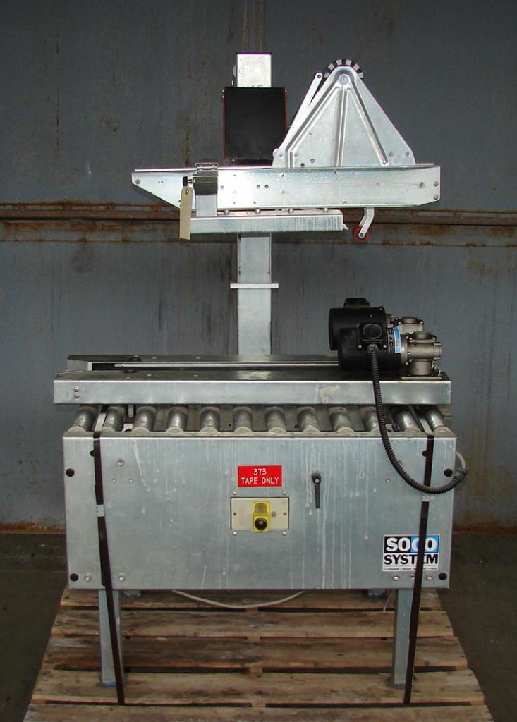 Case Sealer Soco top only case taper model T-10, speed 12 cpm