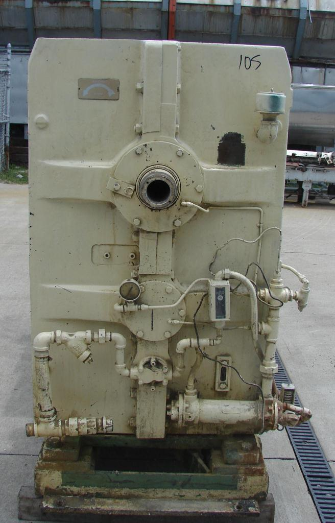 Extruder 4.5 NRM plastic extruder model Pacemaker III, 200 hp DC drive, L/D 34:14