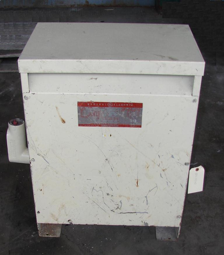 Transformers and Switchgear 20 kva General Electric dry transformer, 460 high voltage, 266 low voltage