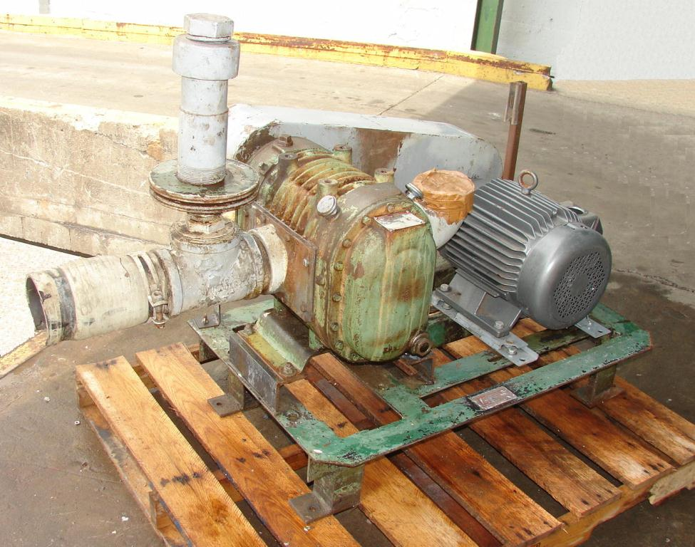 Blower 214 cfm, positive displacement blower Duro Flow, 15 hp