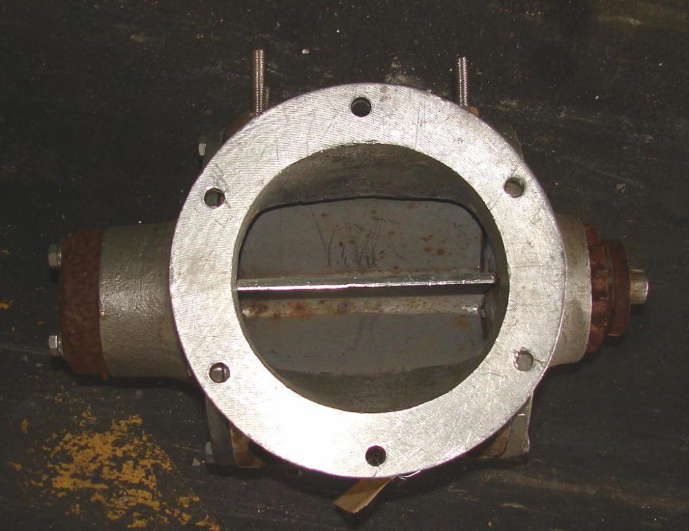 Valve 6 dia. Stainless Steel Premier Pneumatics rotary airlock feeder model 2719-372