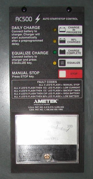Miscellaneous Equipment battery charger, 48 volts Battery Mate up to 600 amps2