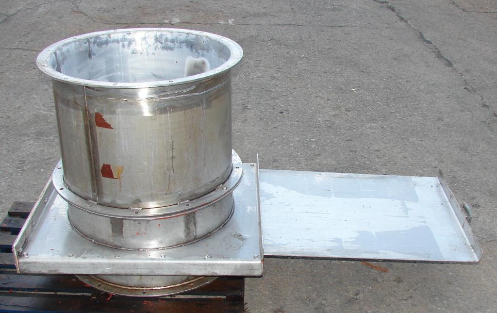 valve 24 u0026quot  gate valve  manual slide  stainless steel