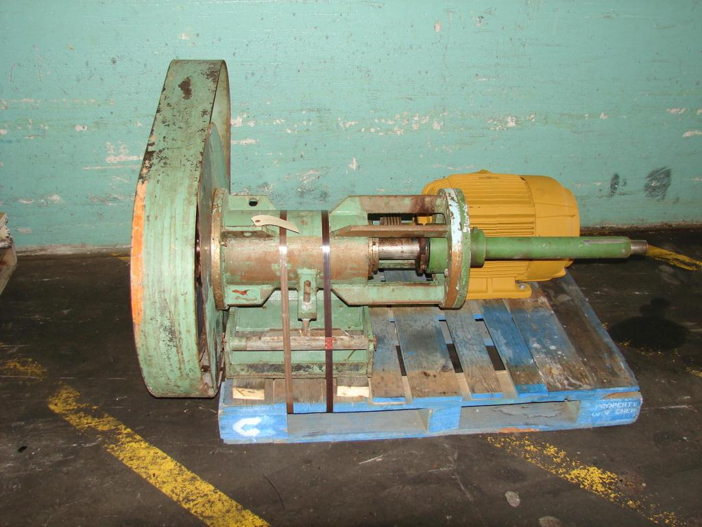 Agitator 15 hp Prochem side mount agitator model PVSS-15-2301