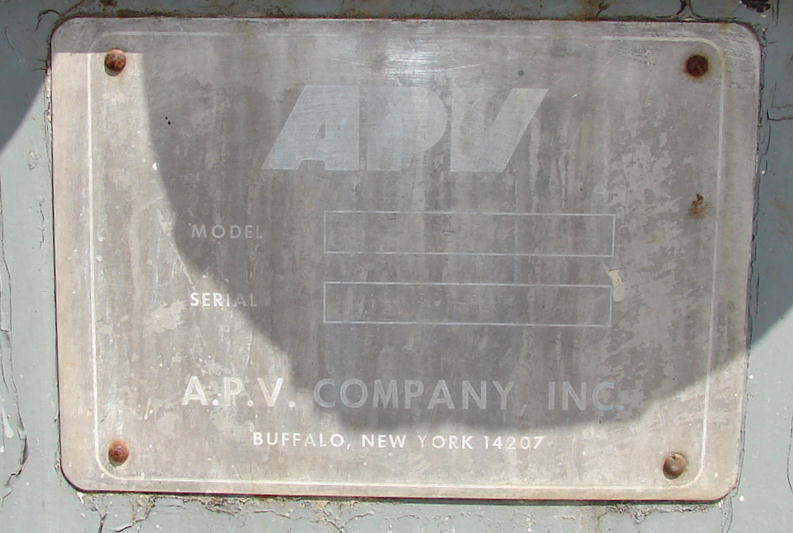 Heat Exchanger 115 sq.ft. APV plate heat exchanger, Stainless Steel2