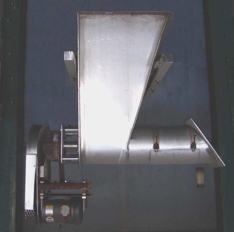 Feeder 12 JW Todd screw feeder Stainless Steel1
