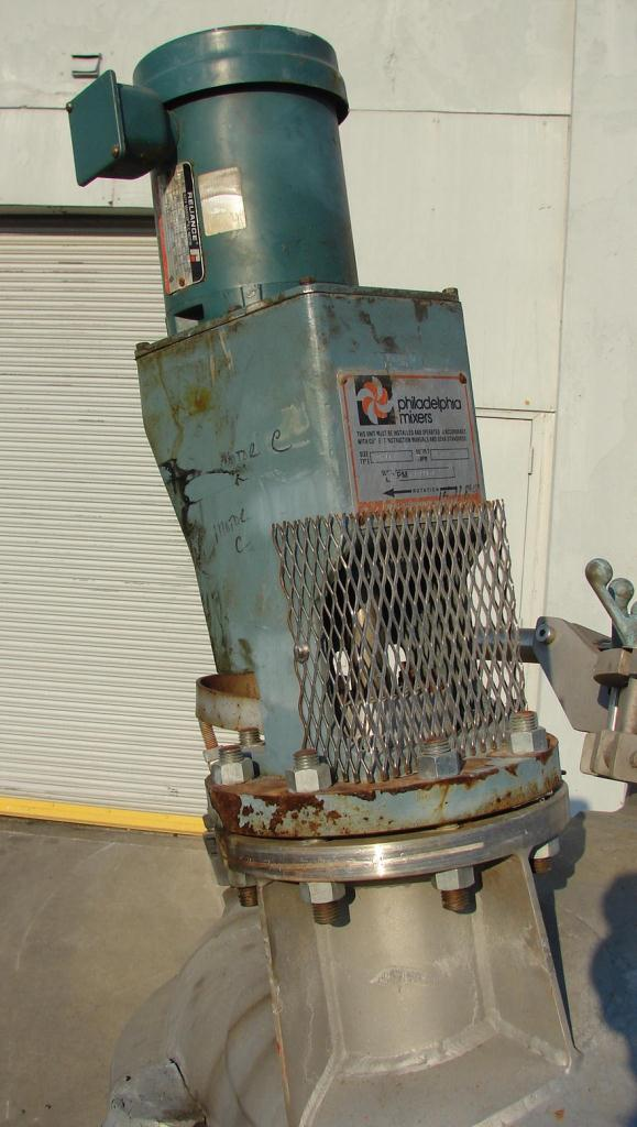 Reactor 200 gallon Mueller chemical reactor, 50 psi internal, 150 psi jacket, 1 hp agitator4