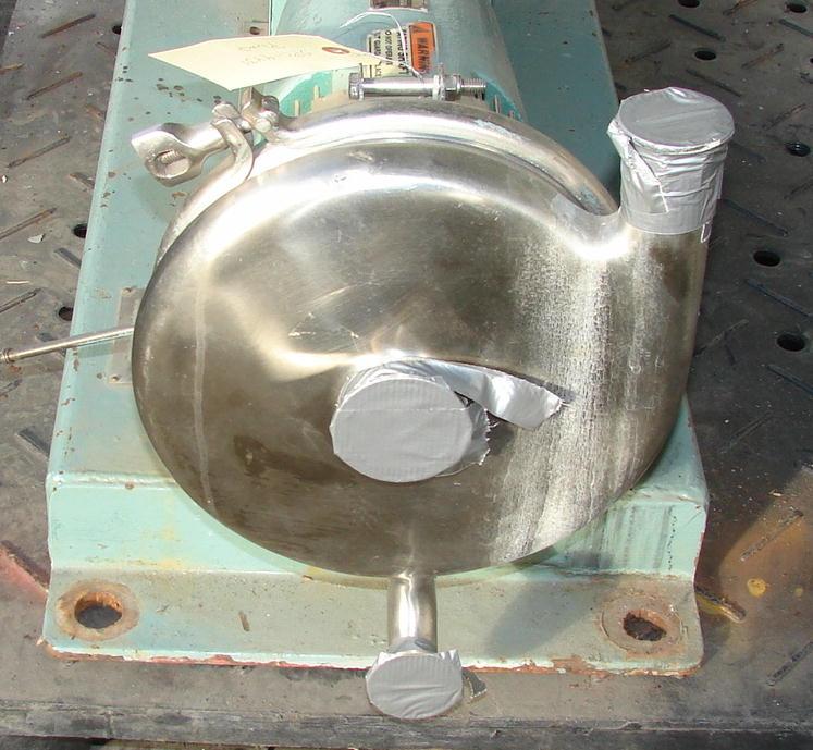 Pump 2x1x8 Tri-Flo Pump centrifugal pump, 15 hp, Stainless Steel2