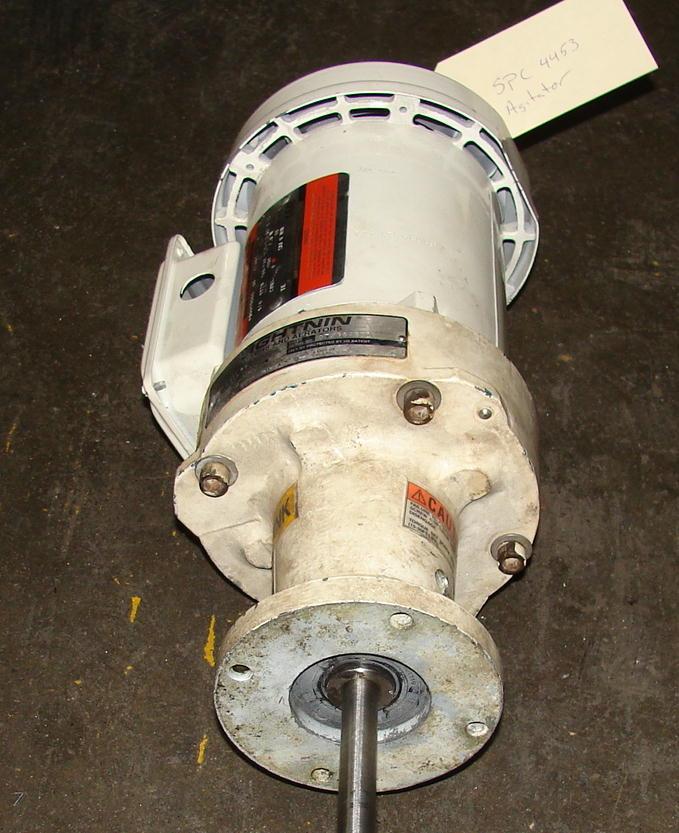 Agitator .25 hp Lightnin top mount agitator model EVIL253