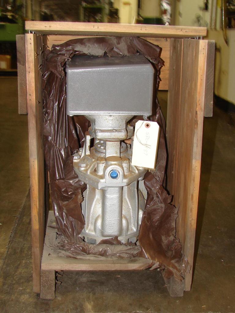 Valve 1 Kaydon Corp model 460 A 15 1 MK liquid flow meter, CS1