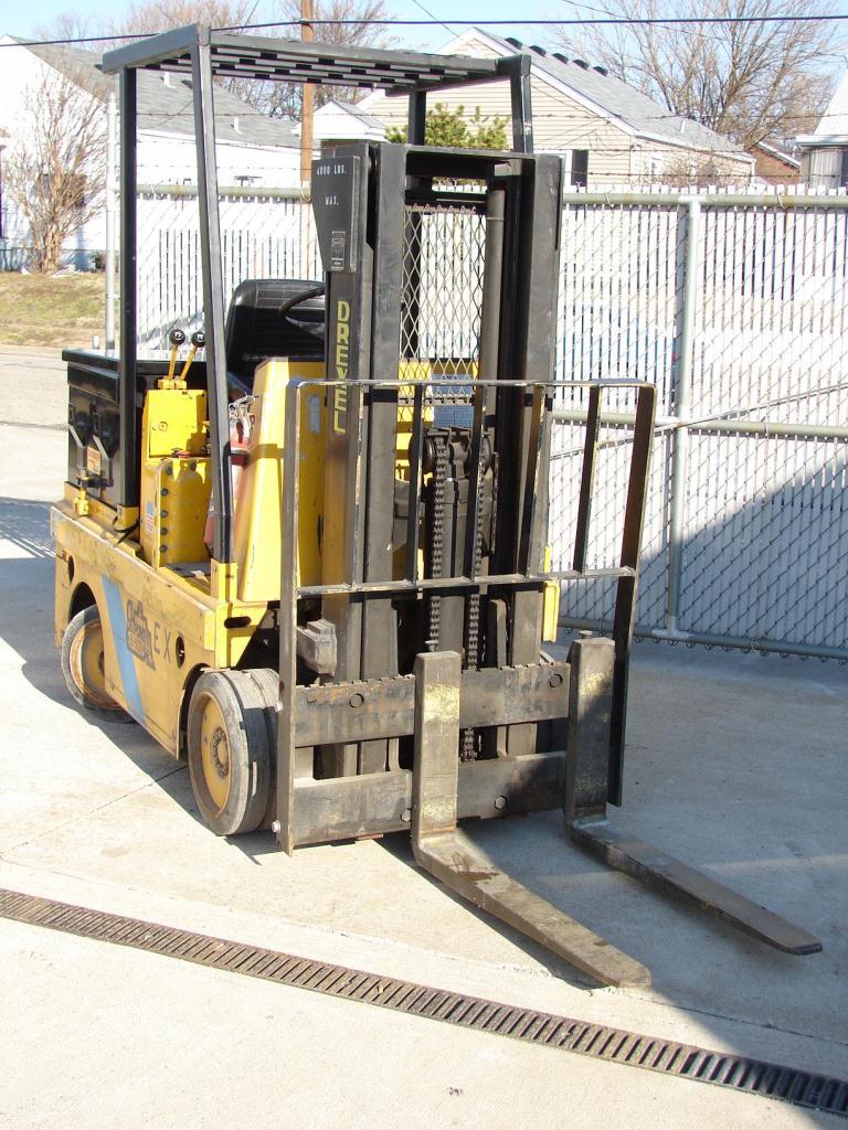 Forklift 4,000 lbs. Drexel electric forklift model FL40EX2