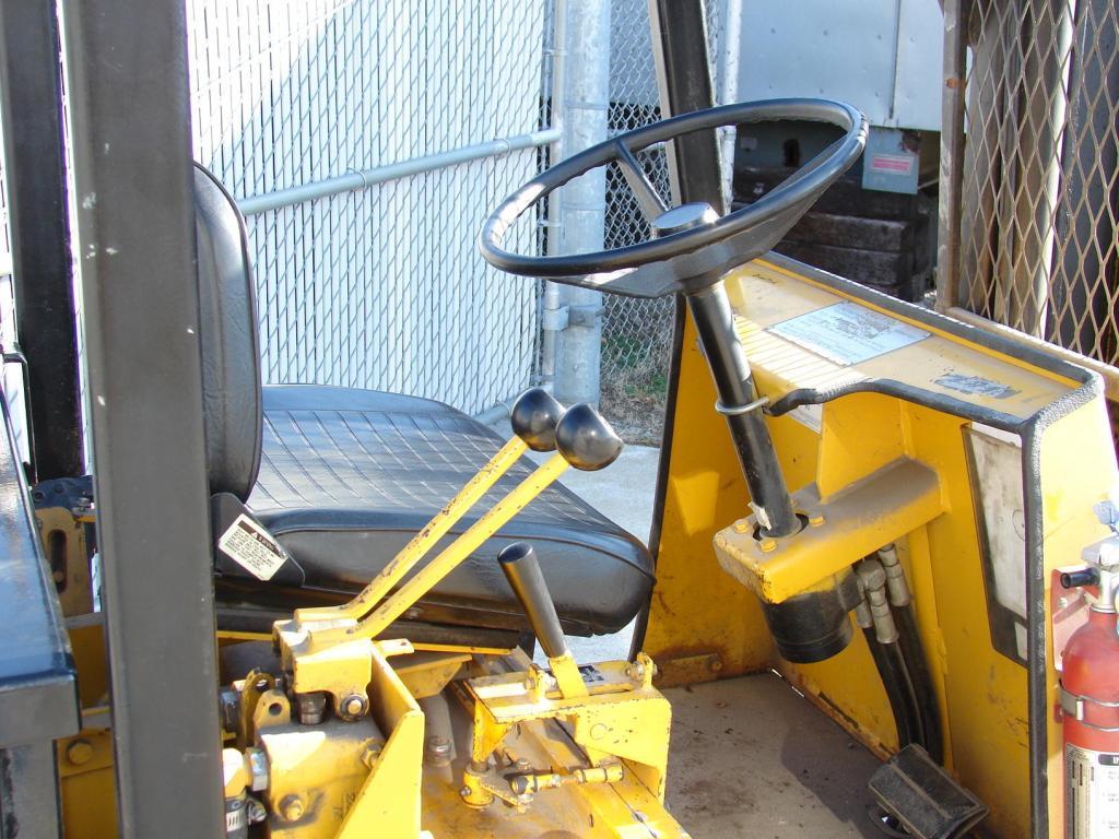 Forklift 4,000 lbs. Drexel electric forklift model FL40EX4