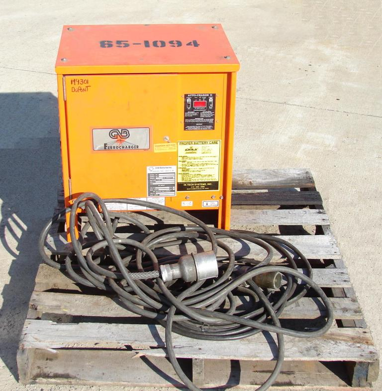 Forklift 4,000 lbs. Drexel electric forklift model FL40EX5