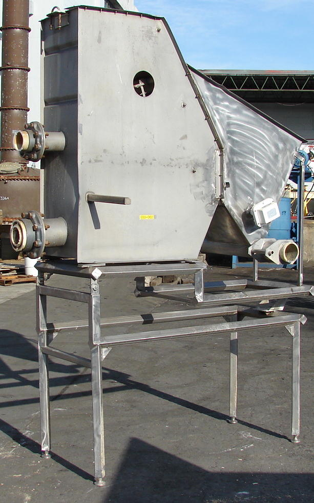 Screener and Sifter hydrasieve, up to 15 gpm Andritz rectangular shaker screener, 316 SS2