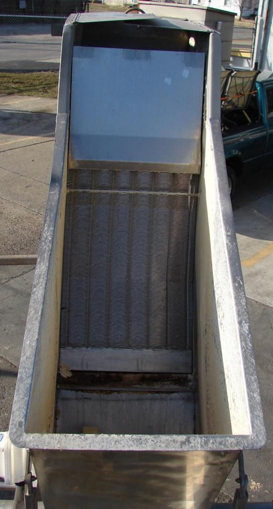 Screener and Sifter hydrasieve, up to 15 gpm Andritz rectangular shaker screener, 316 SS3
