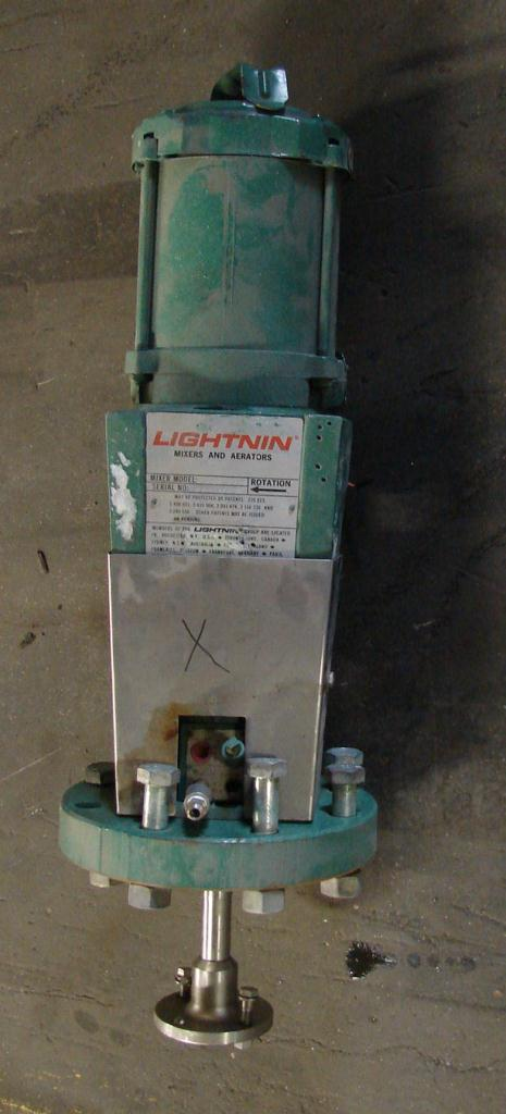 Agitator .3 hp Lightnin top mount agitator model XJDS 30AM