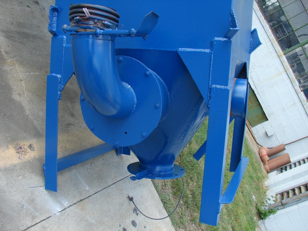 Dust Collector 226 sq.ft. Consolidated Engineering reverse pulse jet dust collector2