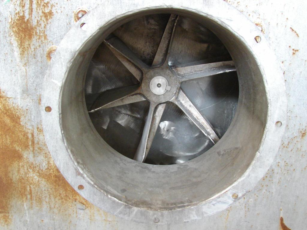 Blower centrifugal fan Garden City size 17 model RF-2, 10 hp, Stainless Steel Contact Parts2