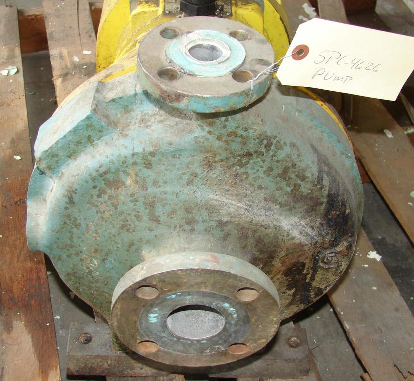 Pump 1x2x10 AW Chesterton centrifugal pump, 5 hp, Stainless Steel Contact Parts2