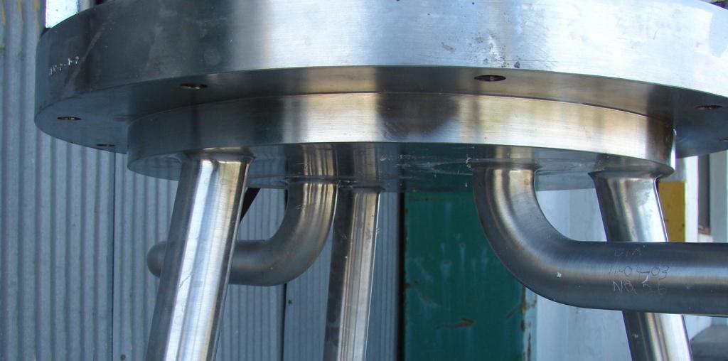 Filtration Equipment 230 sqft Millipore cartridge filter model 12R x 3 high T-line, 316 SS3